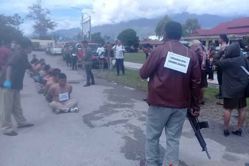 Satu terdakwa pembantaian Nduga Papua dijerat pasal 340