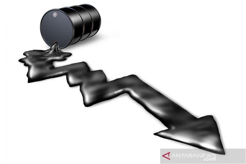 Harga minyak dunia turun tertekan kekhawatiran kelebihan pasokan