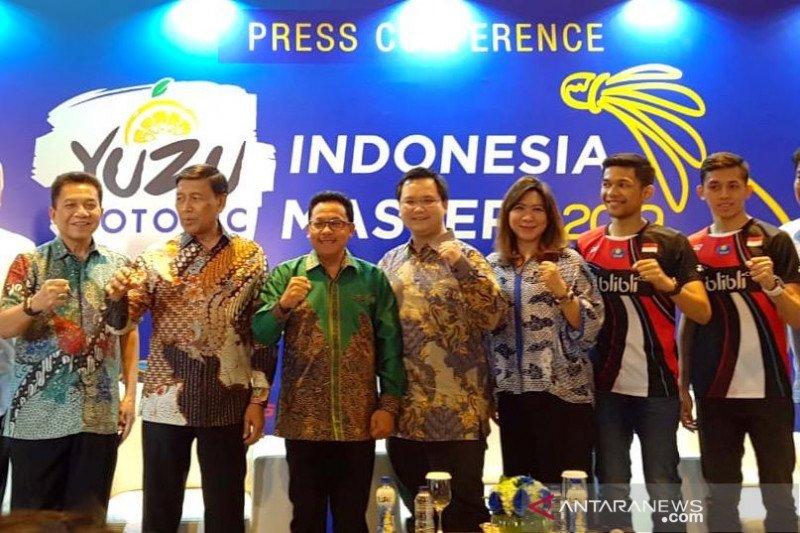 PBSI target dua gelar juara di Yuzu Indonesia Masters 2019