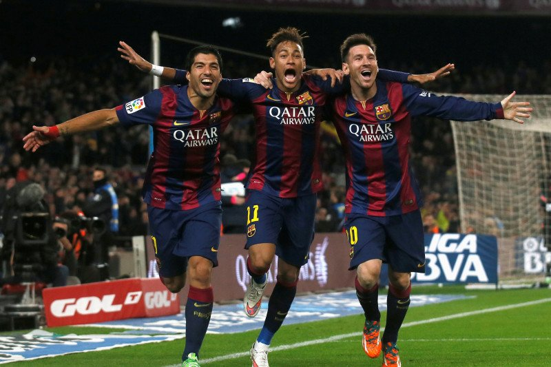 Messi akui senang jika Neymar kembali