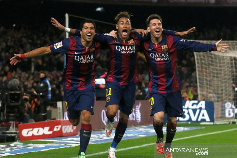 Lionel Messi akui kangen Neymar