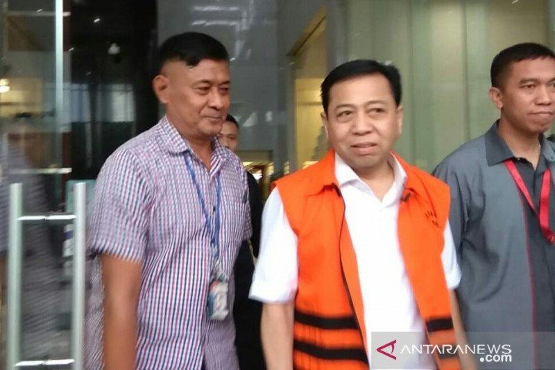 KPK panggil Setya Novanto terkait kasus KTP-el