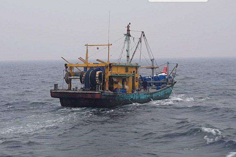 KKP tangkap satu kapal ikan ilegal asal Malaysia