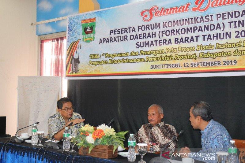 Biro Organisasi Sumbar Dorong penguatan ketatalaksanaan pemerintah