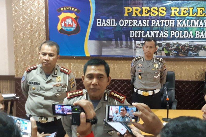 19.471 pengendara terjaring razia Patuh Kalimaya 2019 Banten