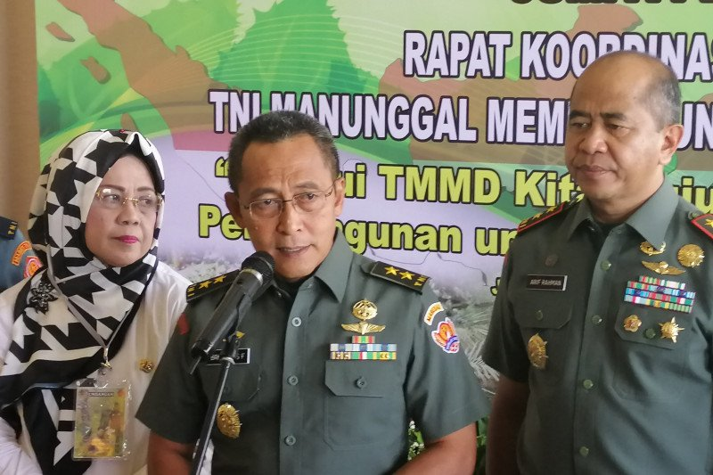 TNI gandeng Kementerian Lingkungan Hidup dan Kehutanan gelar TMMD