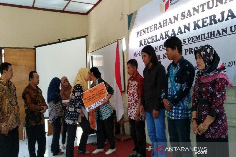 Bawaslu Kulon Progo santuni Panwaslu terkena musibah pada Pemilu