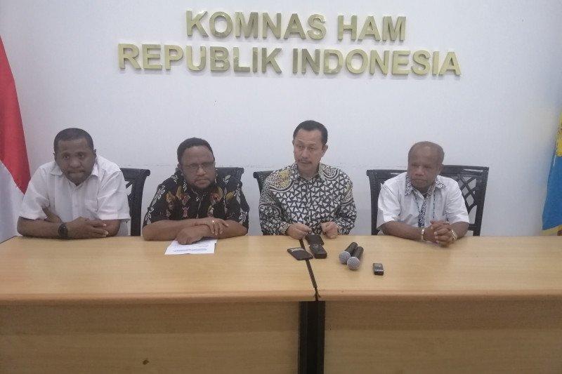 Komnas HAM minta Presiden Jokowi datang ke Papua