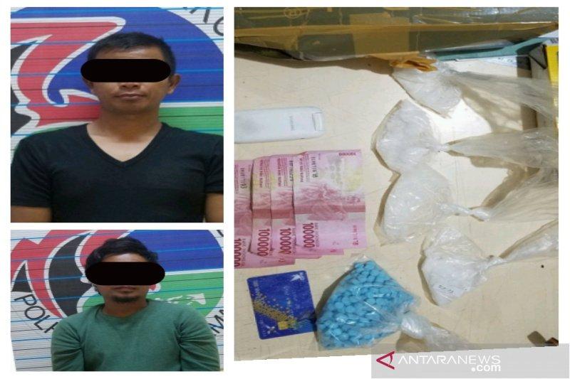 Oknum perangkat desa dan petani ditangkap karena membawa narkoba