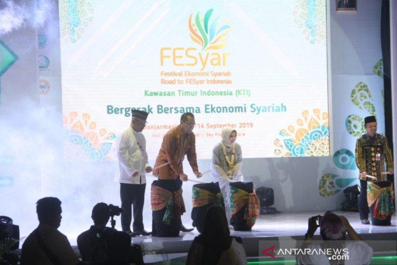 Gelar Fesyar se-kawasan Timur Indonesia di Banjarmasin dibuka