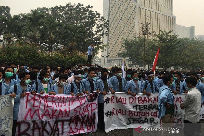 Demo rusuh, Rektor Unri minta maaf kepada Polda Riau atas insiden G17S