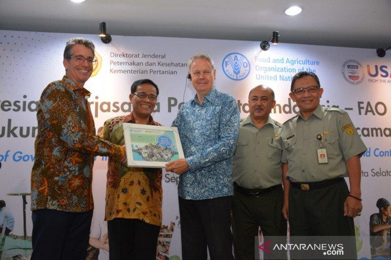Kementan gandeng FAO-USAID tingkatkan penanggulangan zoonosis