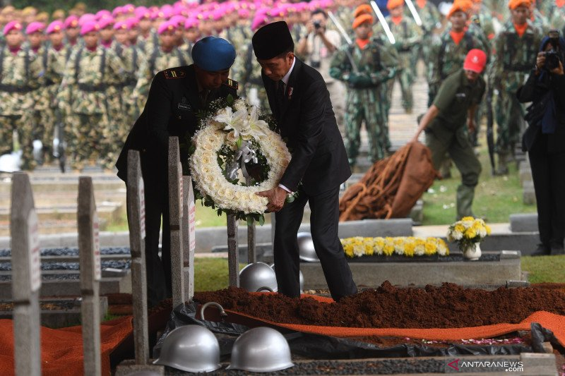 Rangkaian upacara pemakaman kenegaraan BJ Habibie