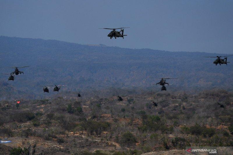 Puncak latihan gabungan TNI Dharma Yudha