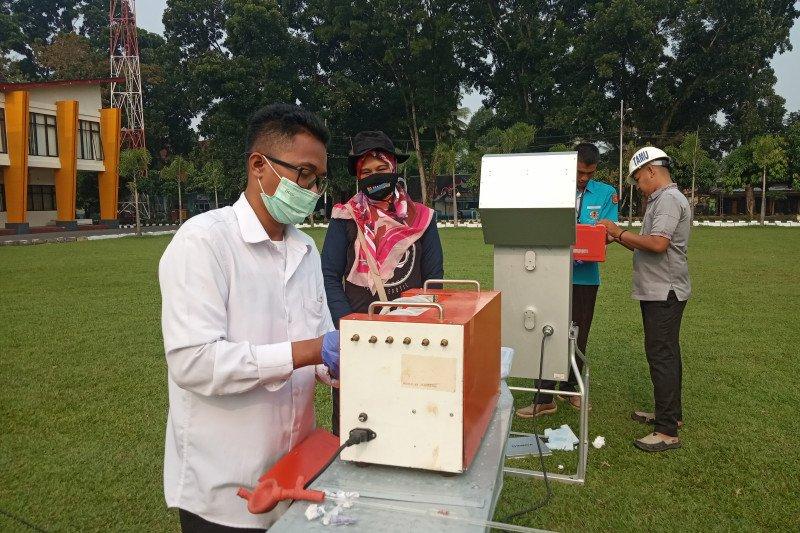 Uji kualitas udara, DLH Agam ambil sampel udara ambien di Lubukbasung