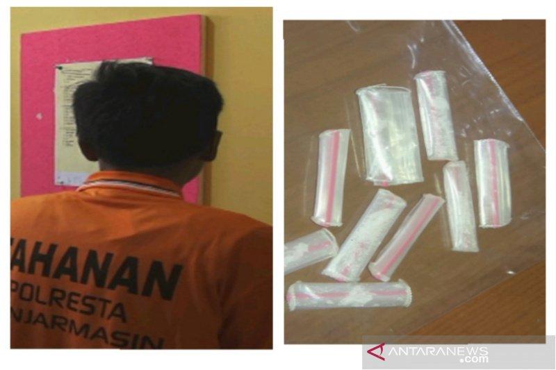 Polisi ringkus tukang parkir edarkan sabu-sabu di Banjarmasin