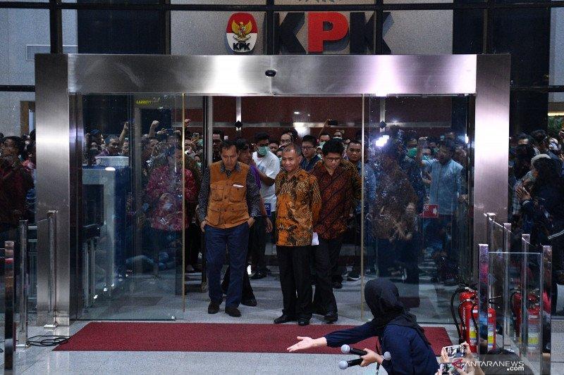 Himpunan Aktivis Milenial minta pimpinan KPK mundur