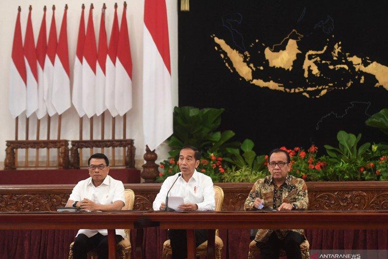 Presiden sampaikan tiga usulan perubahan UU KPK versi pemerintah