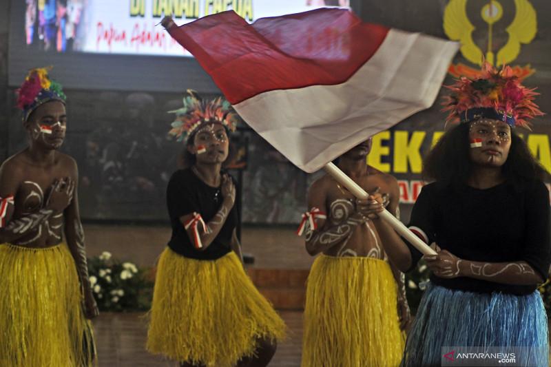 Aksi solidaritas untuk Papua damai