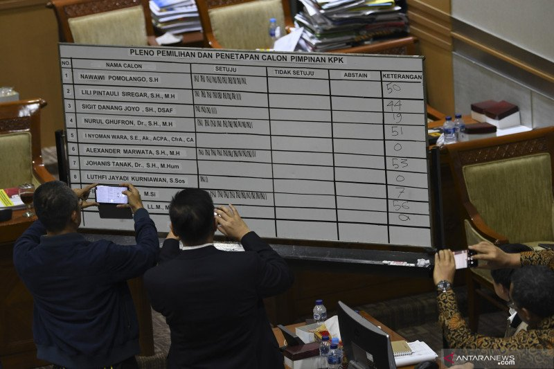 Pengamat: keputusan DPR pilih ketua KPK hapus pro-kontra