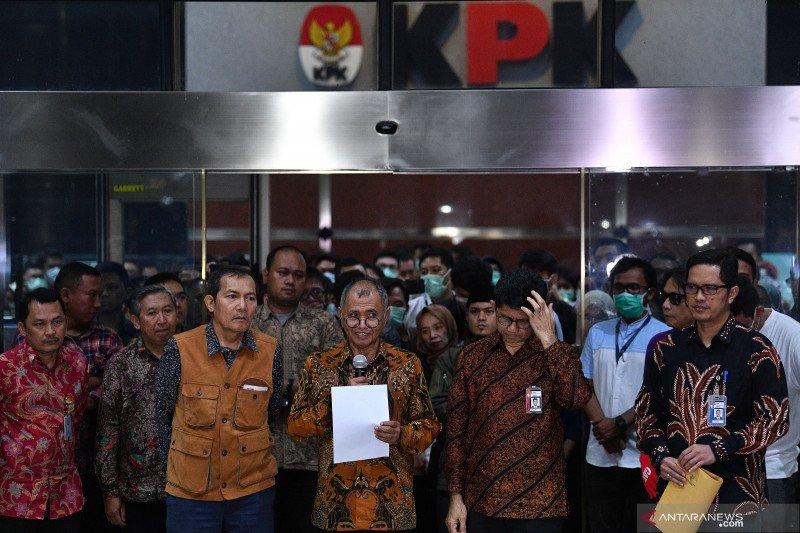 Pimpinan KPK: Pembahasan revisi UU KPK seperti sembunyi-sembunyi