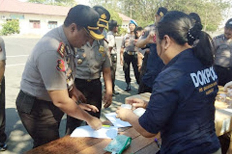 Propam Polda Sulut gelar Operasi Gaktibplin di Polres Minsel