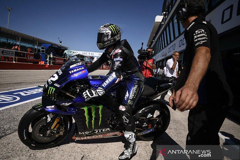 Marquez kecelakaan parah, Maverick Vinales puncaki FP1 GP Thailand