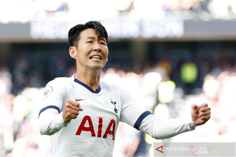 Son cetak dua gol saat Tottenham cukur Crystal Palace 4-0