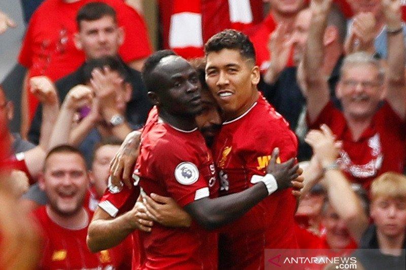 Liverpool catat 14 kemenangan beruntun saat bungkam Newcastle 3-1