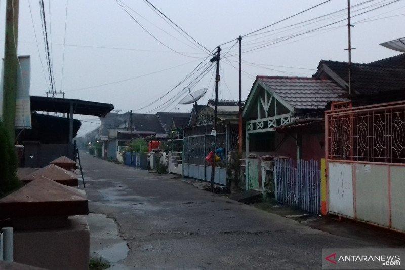 Karhutla Riau - Langit Pekanbaru agak cerah usai hujan Sabtu dinihari