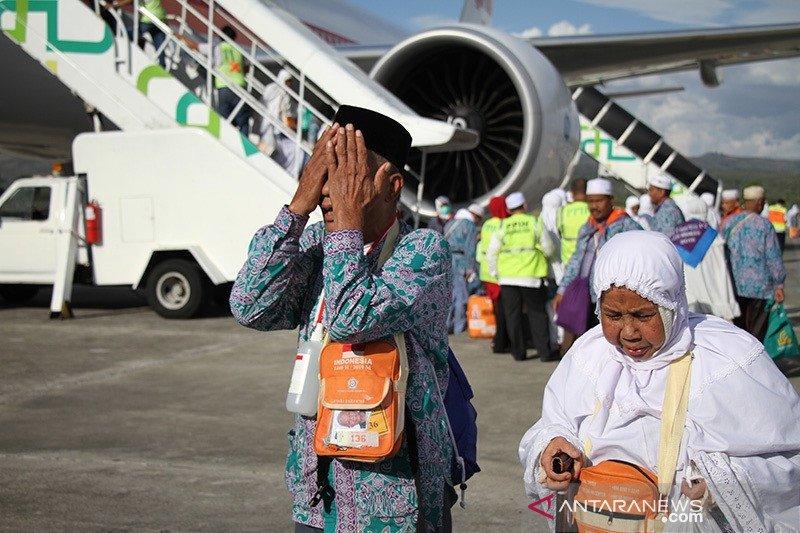 388 haji debarkasi Aceh tersisa satu kloter di Arab Saudi