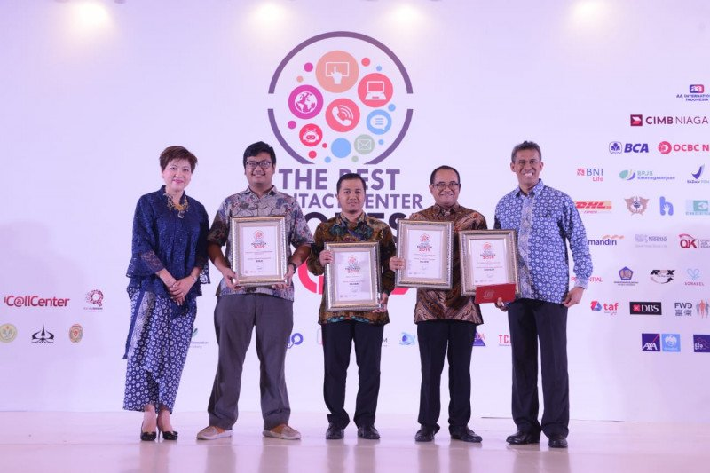 """PGN raih lima penghargaan dalam ajang """"The Best Contact Center Indonesia"""" 2019"""