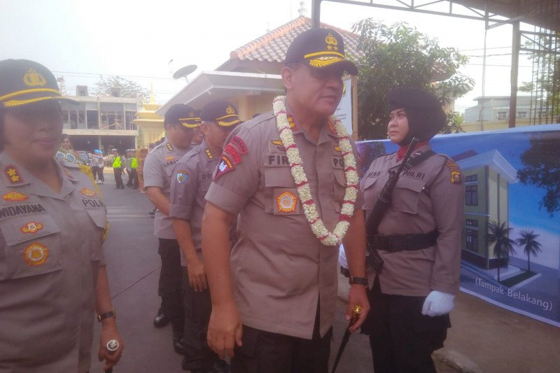Ketua KPK terpilih  berikan motivasi anggota Polres Ogan Komering Ulu