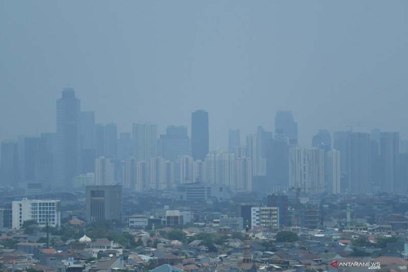 Senin, Jakarta  kota terpolusi ketiga di dunia