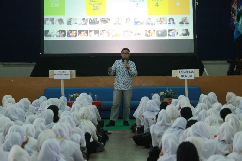Mahasiswa baru UMK dapat pendidikan antikorupsi dari KPK