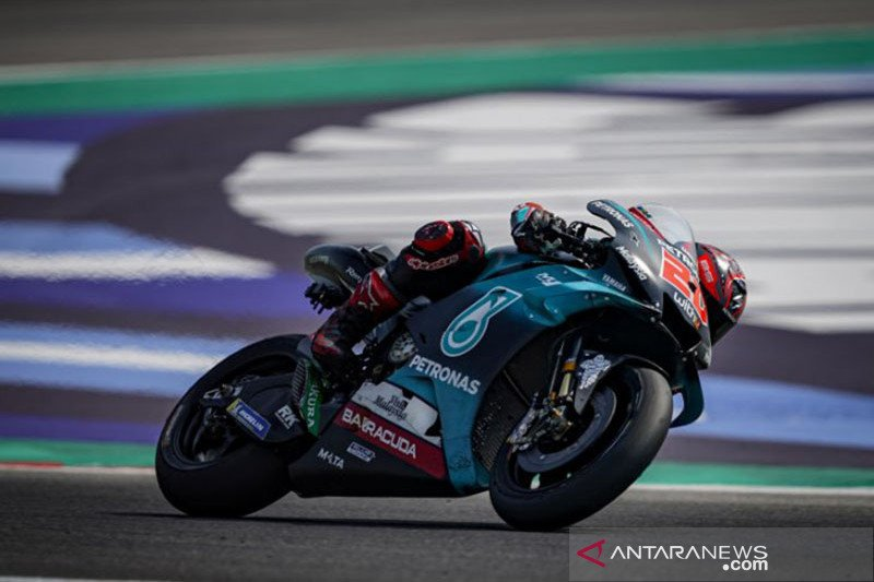 Quartararo ungguli Vinales di FP3 GP San Marino