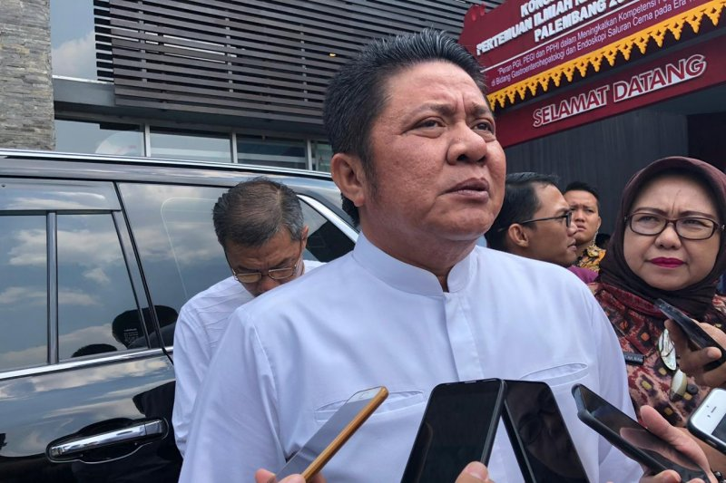 Gubernur Sumsel  bangga Ketua KPK terpilih putra asli daerahnya