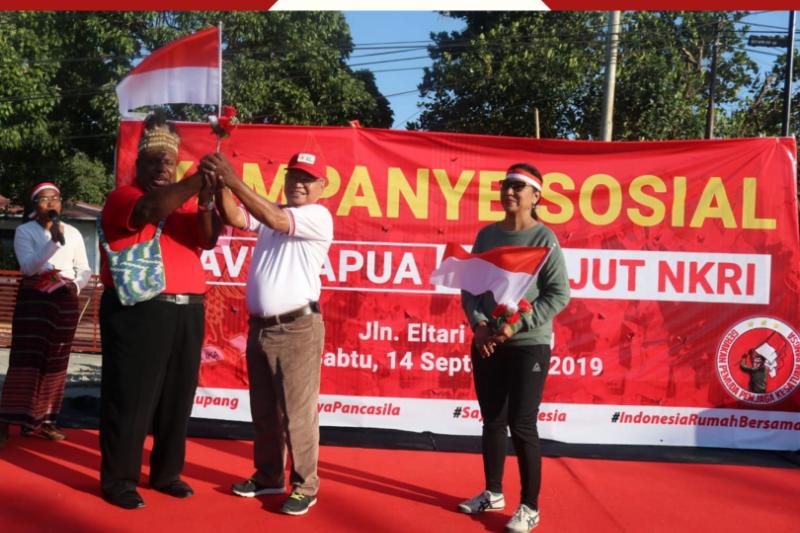 Organisasi kepemudaaan di NTT gelar aksi save Papua