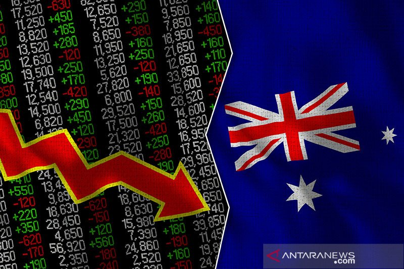 Bursa Australia dibuka jatuh, saham-saham perusahaan minyak anjlok