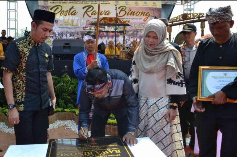 Pemkab Bekasi jadikan situ Rawa Binong wisata andalan