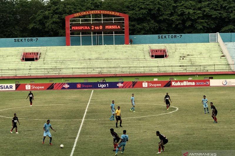 Persipura Jayapura atasi Persela Lamongan 2-0 laga lanjutan Liga 1