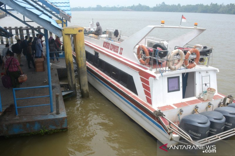 Pelayaran di Sungai Kayan sempat normal