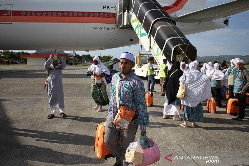 Dua haji Aceh batal pulang bersama kloter terakhir
