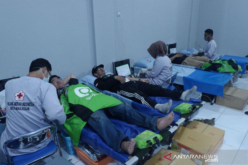 """Gojek-PMI Makassar luncurkan """"Go Blood Volunteer"""""""