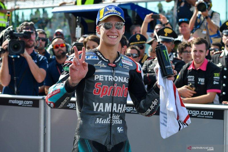 Marquez juara GP San Marino, namun puji Quartararo sebagai pebalap terbaik