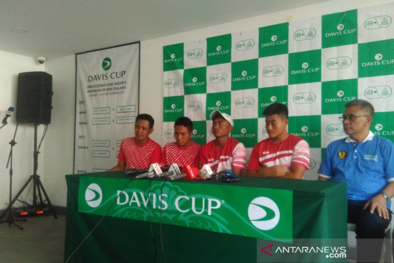 Indonesia harus tampil di playoff Piala Davis