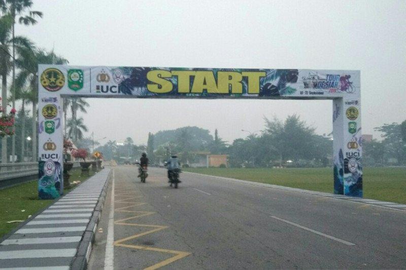 Tiga tim balap sepeda batal ikut Tour de Siak karena kabut asap