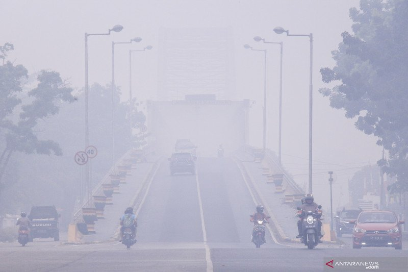 Haze worsen disrupts Palangka Raya Airport flights
