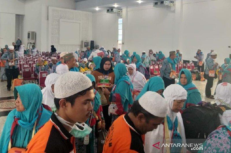 8.502 haji Sumut kembali ke tanah air