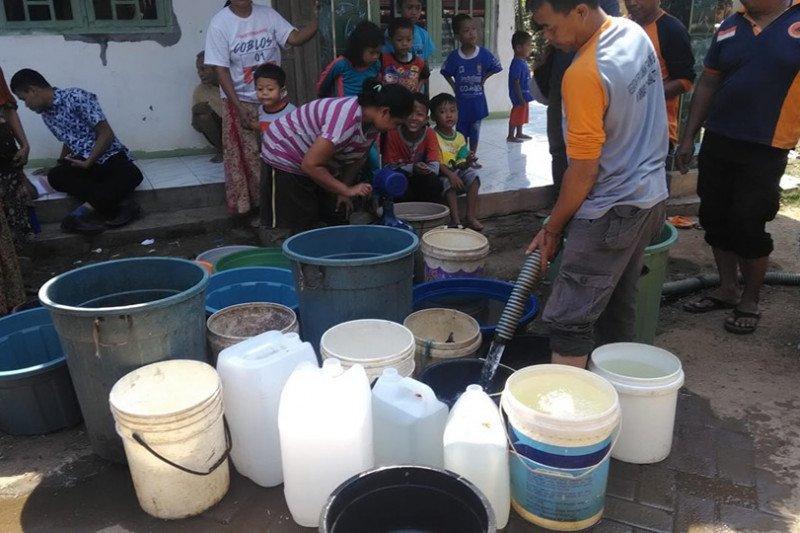 BPBD Lebak terus optimalkan distribusi air bersih